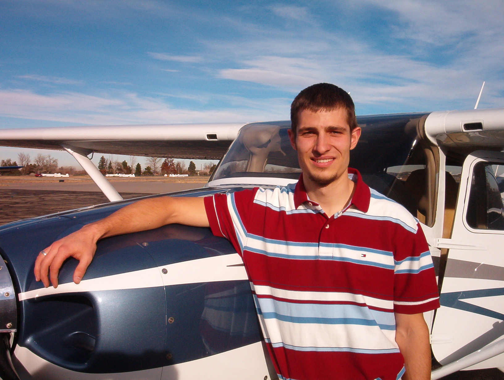 Ben Totems CFI CFII MEI Flight Instructor at Boulder Airport